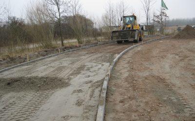 Terreininrichting staatbosbeheer boerderij Lauwersoog